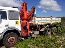 Iveco truck with a Ferrari crane - Lot 9 (Auction 4515)