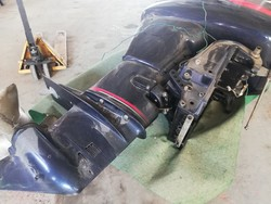 Savir Speedboat and Selva Marine Montecarlo Outboard Engine - Lot  (Auction 4527)