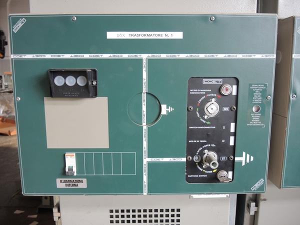 Immagine n. 1 - 43#4530 Sezionatore Media Tensione Box Trasformatore