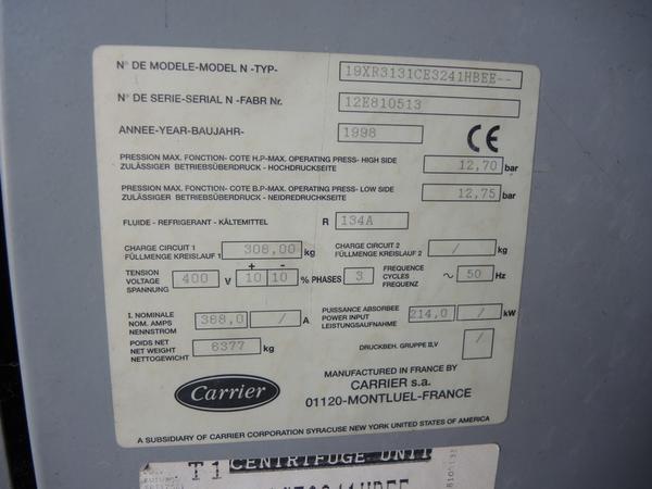 Immagine n. 2 - 50#4530 Impianto refrigerazione Carrier