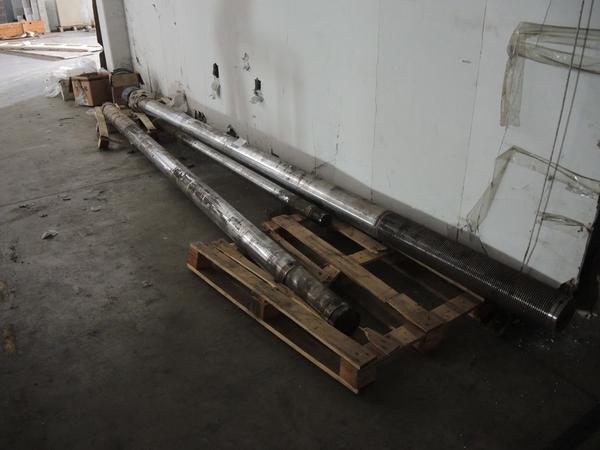 Immagine n. 1 - 57#4530 Guppo di colonne per presse a iniezione Sandretto