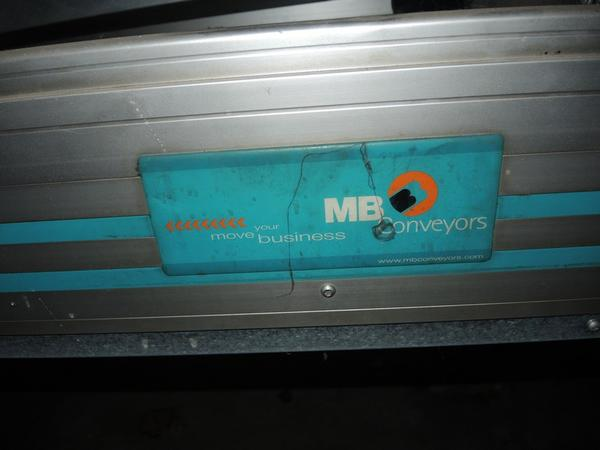 Immagine n. 5 - 60#4530 Nastro Trasportatore MB Conveyors