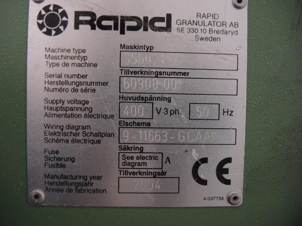 Immagine n. 3 - 66#4530 Granulatore Rapid