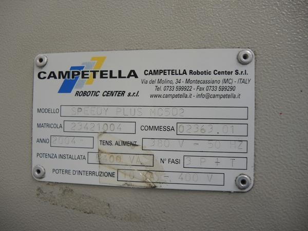 Immagine n. 5 - 74#4530 Robot Campetella Speedy Plus MC5D2 con isola