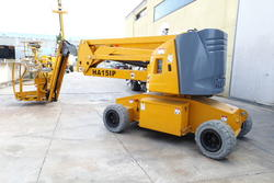 Haulotte HA15 ip Electric articulated self propelled platform - Lot 4 (Auction 4535)