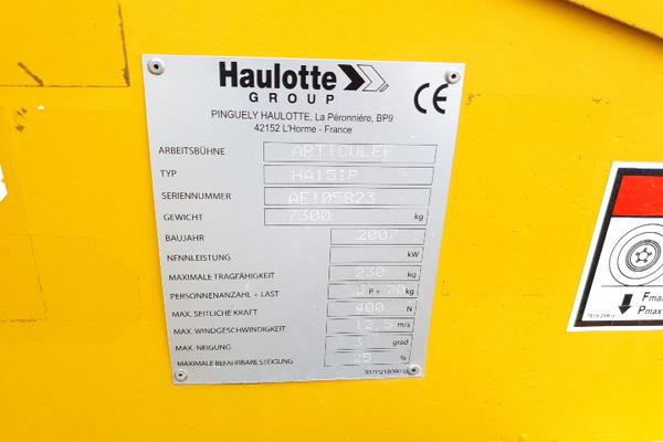 Immagine n. 16 - 4#4535 Piattaforma semovente articolata eletrica Haulotte HA15 ip