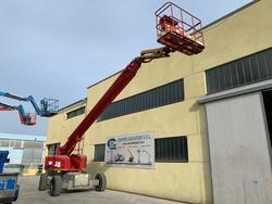 Genie s 85 Self propelled telescopic boom lift - Lot 6 (Auction 4535)