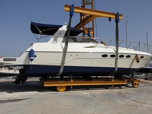 1#4540 Imbarcazione a motore in vetroresina open Gagliotta Camaro Tris