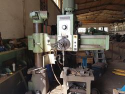 Bergonzi radial column drill - Lot 20 (Auction 4551)
