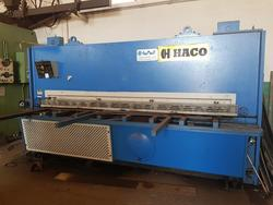 Haco hydraulic guillotine shear - Lot 3 (Auction 4551)