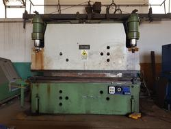 Omag press brake - Lot 4 (Auction 4551)