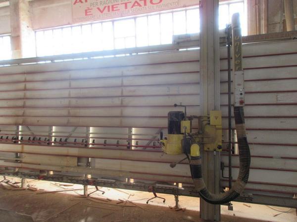 8#4553 Sezionatrice verticale Putsch-Meniconi
