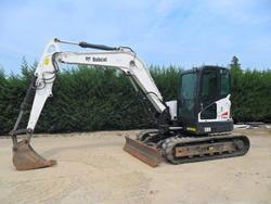 Bobcat E80 excavator  - Lote 1 (Subasta 4561)