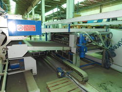 Automatic laminating machine for Mdf panels Aries 14 10 - Lot  (Auction 4575)