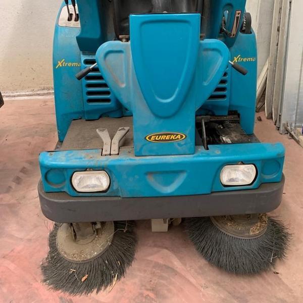 Immagine n. 9 - 2#4604 Spazzatrice idraulica Eureka Extrema Diesel