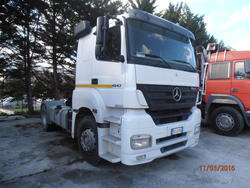 Trattore stradale Mercedes benz Axor 1843 LS - Lotto 11 (Asta 4607)