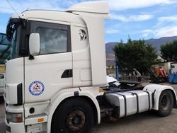 Scania CVR 144 road tractor - Lote 15 (Subasta 4607)