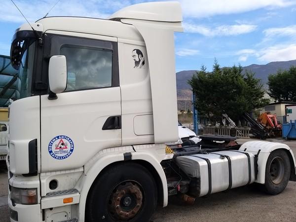 15#4607 Trattore stradale Scania CVR 144