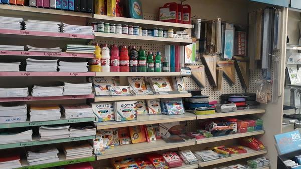 4#4617 Magazzino prodotti finiti di cartolibreria