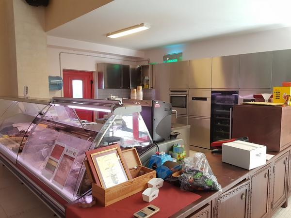 7#4631 Cucina in acciaio inox