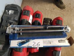 Tile cutters and construction equipment - Lot 26 (Auction 4634)