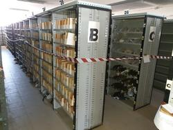Modular shelving for spare parts warehouse - Lot 32 (Auction 4637)