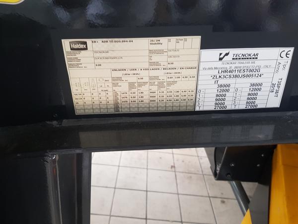 Immagine n. 9 - 2#4638 Cisterna Grapar ATP CG 2.01/S su semirimorchio Tecnokar TMC