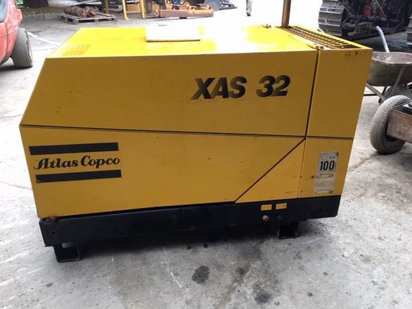 Immagine n. 4 - 3#4646 Compressore Atlas Copco XAS32DD