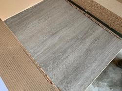 Oak AA melamine chipboard panel  - Lot 10 (Auction 4650)