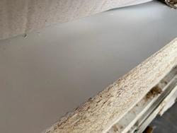 2L white melamine chipboard panel - Lot 12 (Auction 4650)