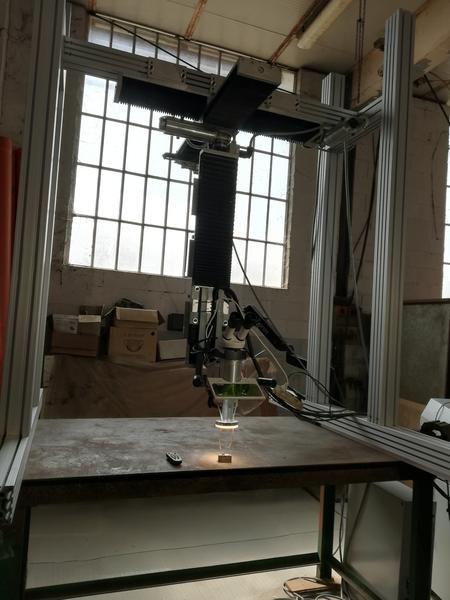 Immagine n. 1 - 1#4658 Impianto a ponte motorizzato per saldatura laser