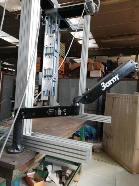 Immagine n. 2 - 1#4658 Impianto a ponte motorizzato per saldatura laser