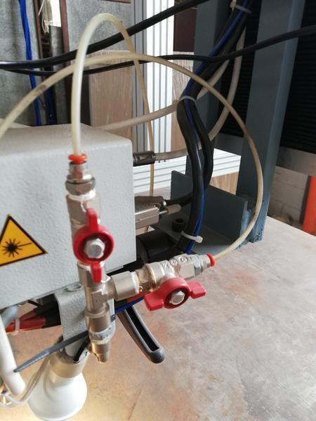 Immagine n. 5 - 1#4658 Impianto a ponte motorizzato per saldatura laser