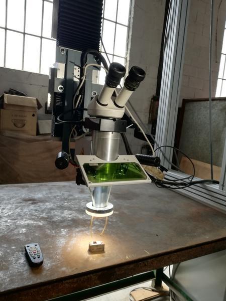 Immagine n. 10 - 1#4658 Impianto a ponte motorizzato per saldatura laser
