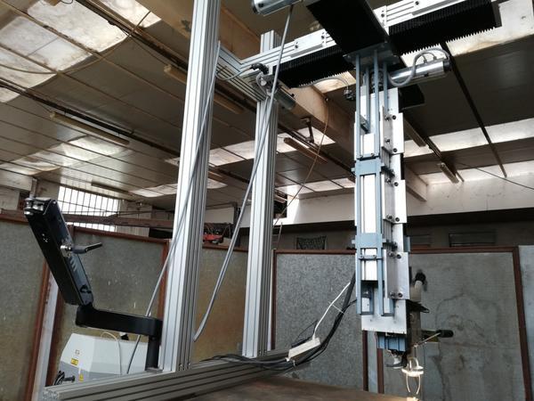 Immagine n. 11 - 1#4658 Impianto a ponte motorizzato per saldatura laser