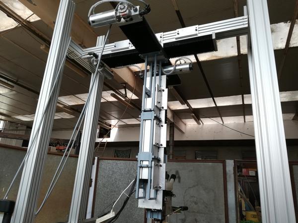 Immagine n. 13 - 1#4658 Impianto a ponte motorizzato per saldatura laser
