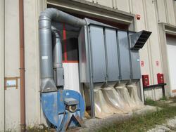 Impianto di aspirazione CNC Busellato - Lotto 16 (Asta 4676)