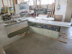 SCM sawing machine and Monguzzi shredded cutter - Lote 23 (Subasta 4676)