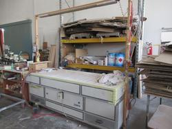 Fassetti Germano sanding bench - Lot 9 (Auction 4676)