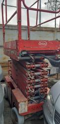JLG vertical pantograph platform - Lot 6 (Auction 4679)