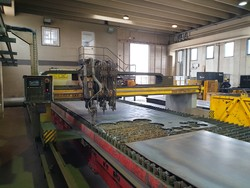 Esab pantograph for plasma and oxygen cutting - Lote 16 (Subasta 4707)