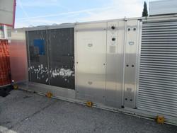 Gruppo condizionatore Climaveneta e condensatore Onda