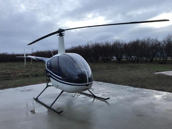 1#4724 Elicottero Robinson R22 Beta