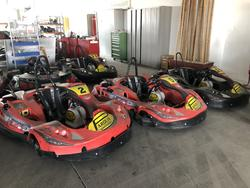 Parolin Indoor E XT 40 Electric Karts - Lot 2 (Auction 4724)