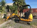 JCB 8018 CTS Mini Escavatore - Lotto 1 (Asta 4734)