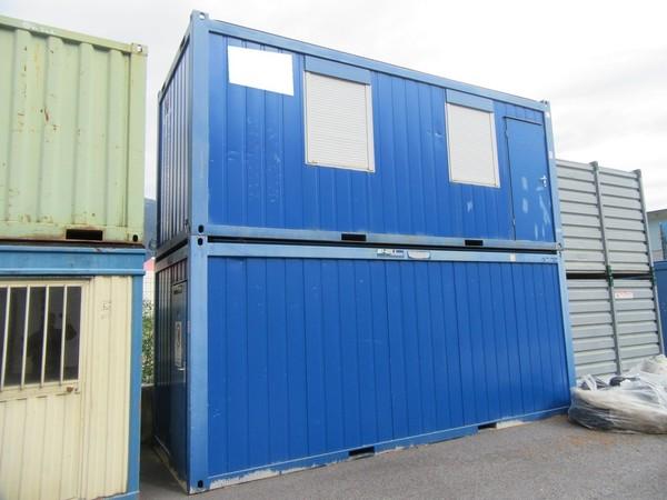 57#4752 Container ufficio CTX e box in lamiera
