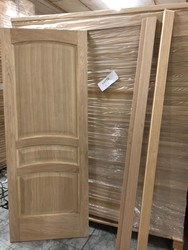 Door panels in solid pine and larch oak - Lot 0 (Auction 4763)