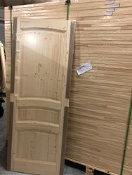 Door panels in solid pine wood - Lot 1 (Auction 4763)