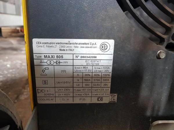 Immagine n. 8 - 7#4764 Saldatrice elettrica Cea Maxi