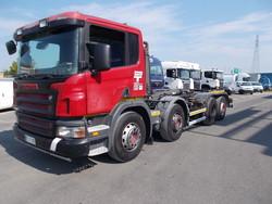 Autocarro scarrabile Scania P 420 - Lotto 3 (Asta 4771)